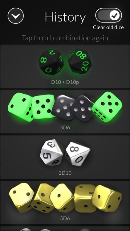 Dice Bag - 3D dice screenshot-9