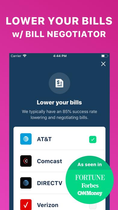 Screenshot for Truebill Budget & Bill Tracker in United States App Store