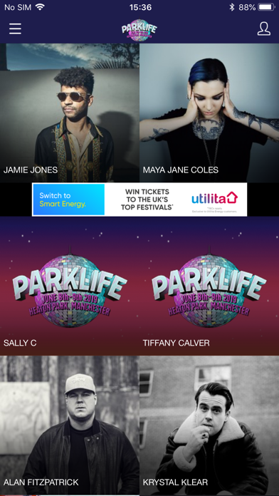 Parklife Festival screenshot three