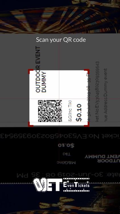 EvenTickets Scanner screenshot-3