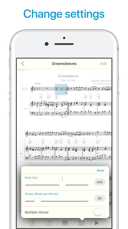Sheet Music Scanner screenshot-5