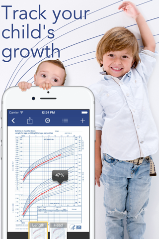 Growth: baby & child charts - náhled