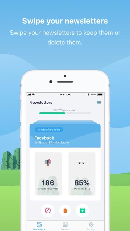 Cleanfox, Inbox & Spam Cleaner