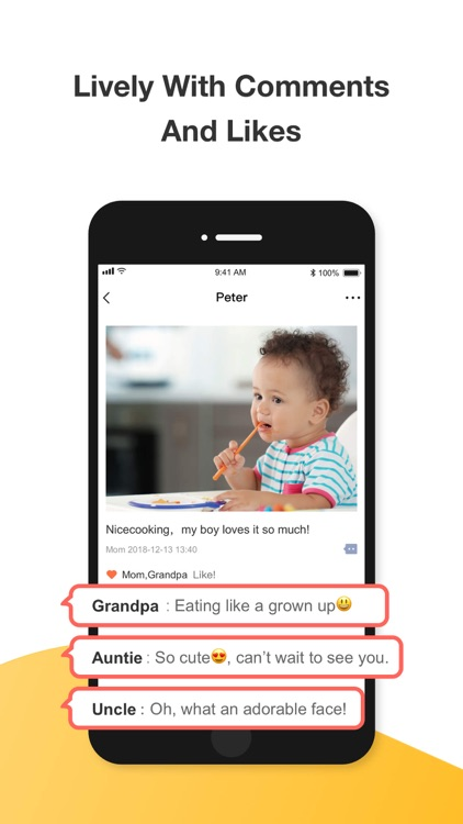 Growing-Baby Photo Sharing App screenshot-5