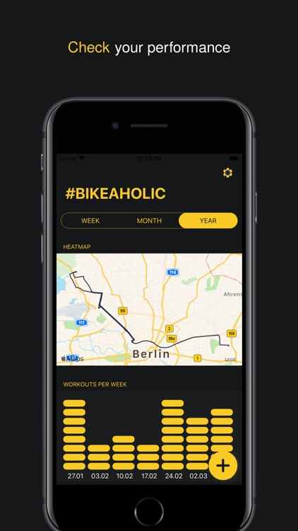 Bikeaholic - Bike companion