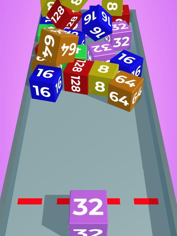 Chain Cube: 2048 3D merge game screenshot 5