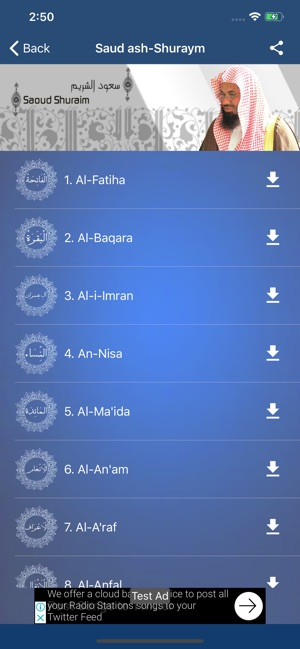 MP3 Quran: 100+ reciters on the App Store