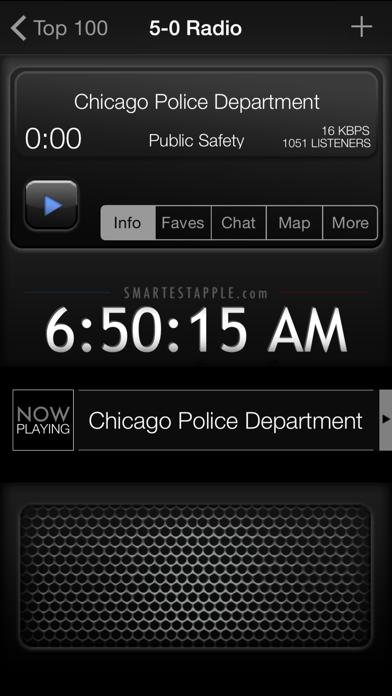 5-0 Radio Pro Police Scanner Screenshot