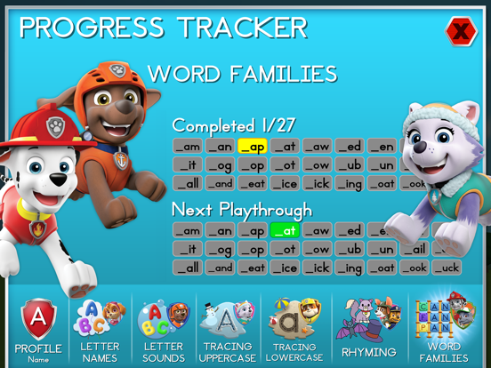 Paw Patrol: Alphabet Learning screenshot 10