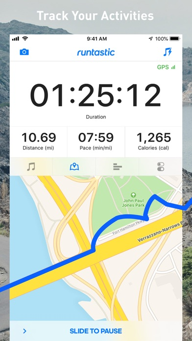 Runtastic Jog & Running App Screenshot