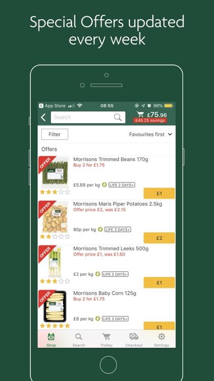 Morrisons Groceries screenshot-3