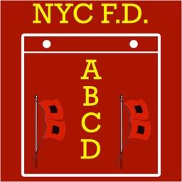 NYC FD ABCD Calendar