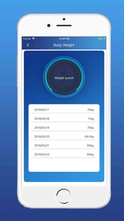 Weight Record Note&Daily Note