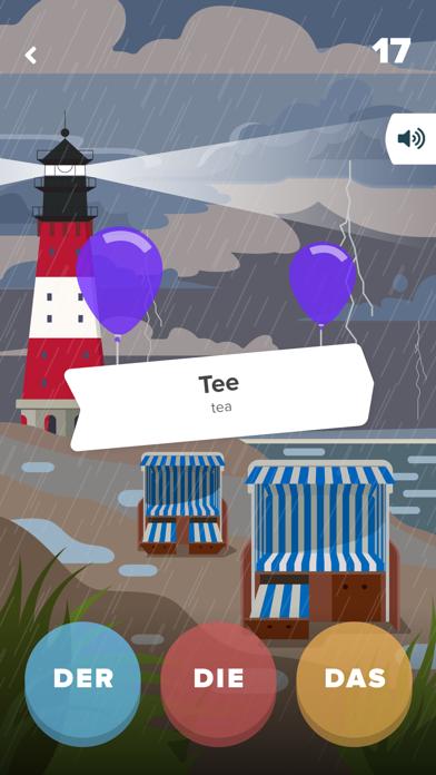 Screenshot for Der Die Das - Lernen & Üben in Germany App Store