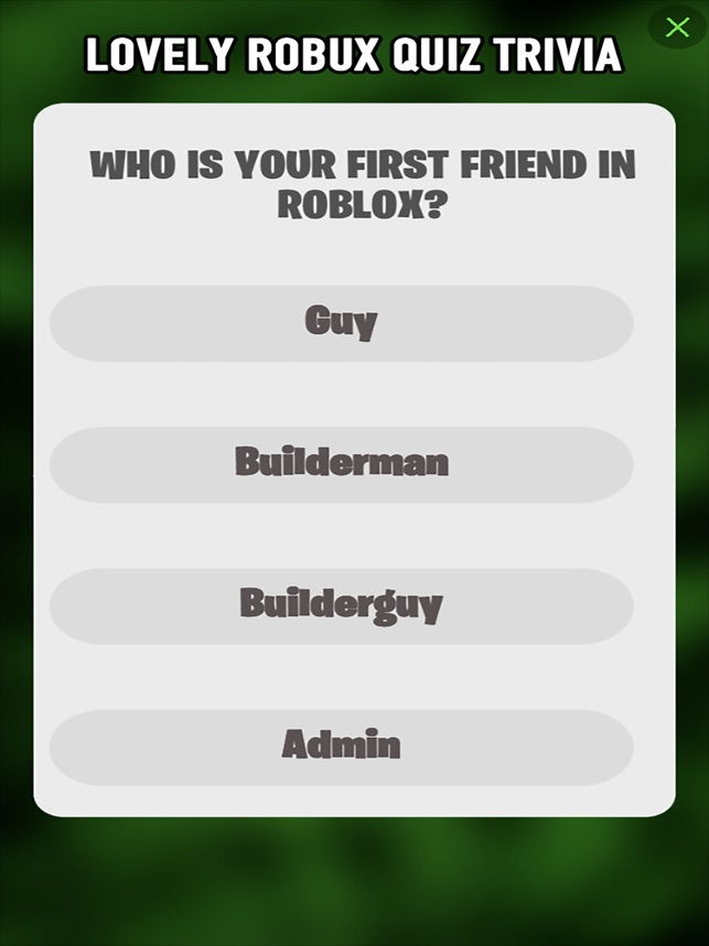 1 Daily Robux For Roblox Quiz On The App Store