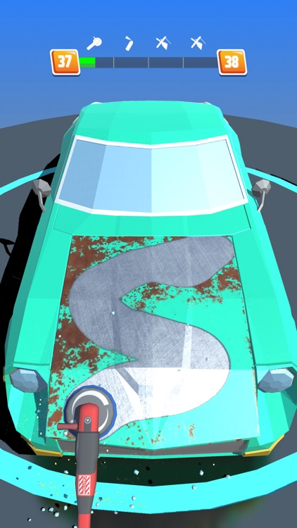 Car Restoration 3D screenshot-0