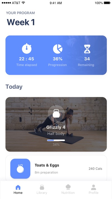 Fitness Coach screenshot 1