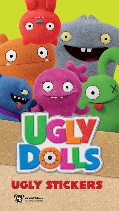 UglyDolls Stickersのおすすめ画像1