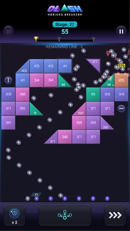 Bricks Breaker Clash screenshot-4