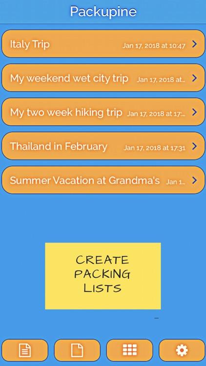 Packupine - Packing Wizard screenshot-0