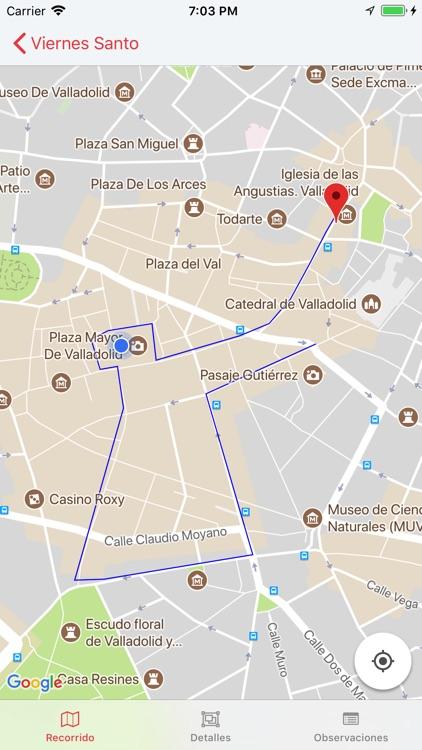 Semana Santa de Valladolid screenshot-4