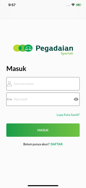 Pegadaian Syariah Digital On The App Store