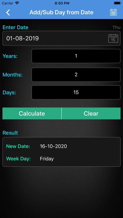 Age Calculator ++ screenshot-4