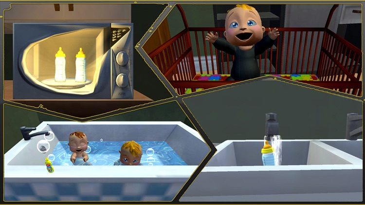 Newborn Twin Baby Mother Games screenshot-4