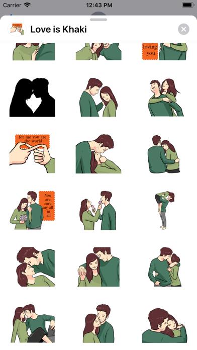 Love is Khaki screenshot 3