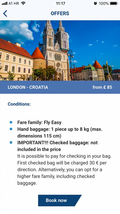 Croatia Airlines screenshot-3
