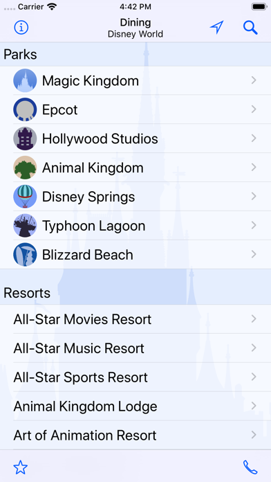 Dining For Disney World review screenshots
