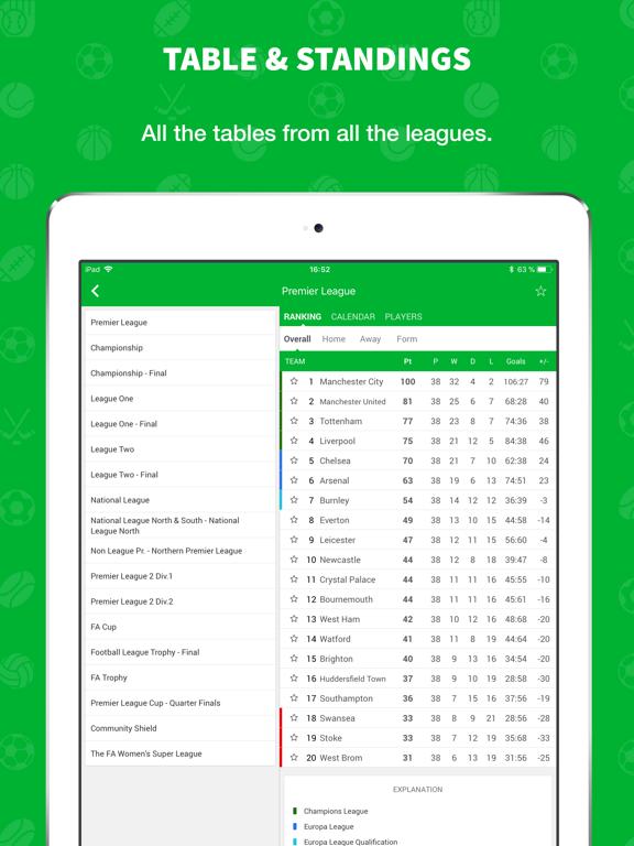 Skores - Live Scores & Results screenshot 10