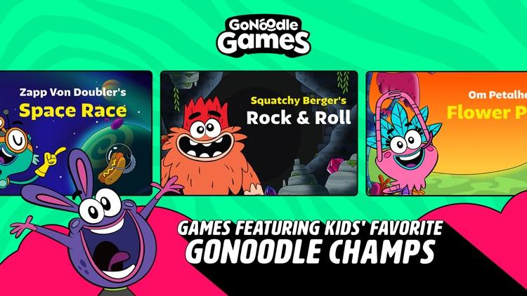 GoNoodle Games