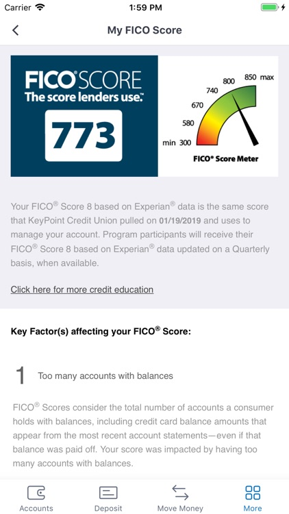 KeyPoint Credit Union Mobile screenshot-3