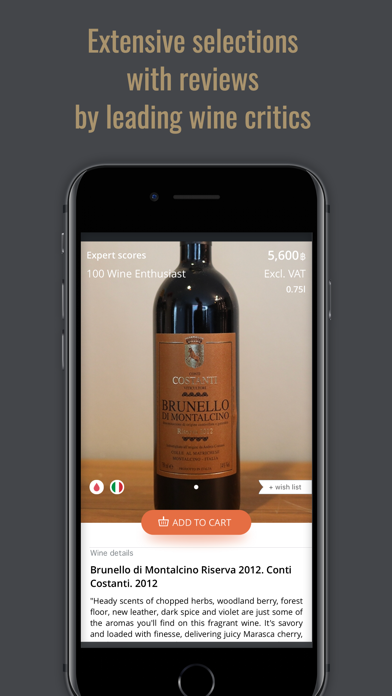 Virtual Wine Cellar screenshot four