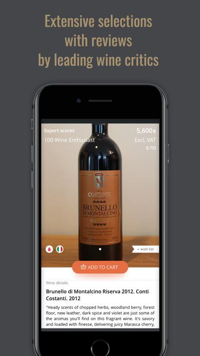 Virtual Wine Cellar screenshot four