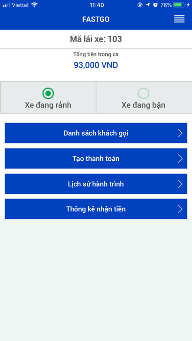 FastGo.mobi - Driver screenshot two
