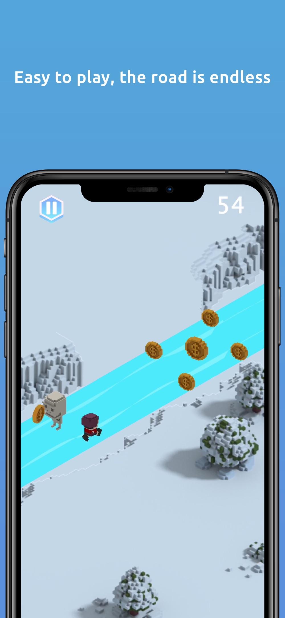 Inuk Arctic 3D running game Cheat Codes
