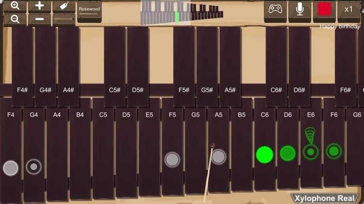 Xylophone Real: 2 mallet types screenshot-0