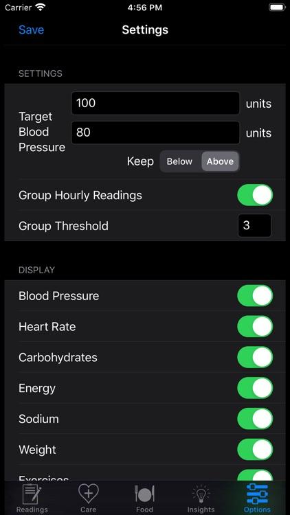 HealthGear - Blood Pressure screenshot-9