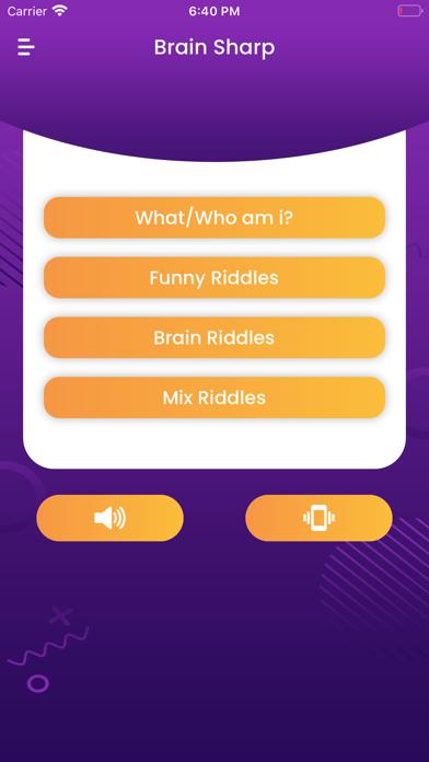 Brain Sharp - IQ Test Screenshot