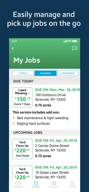PLOWZ & MOWZ for Landscapers on the App Store