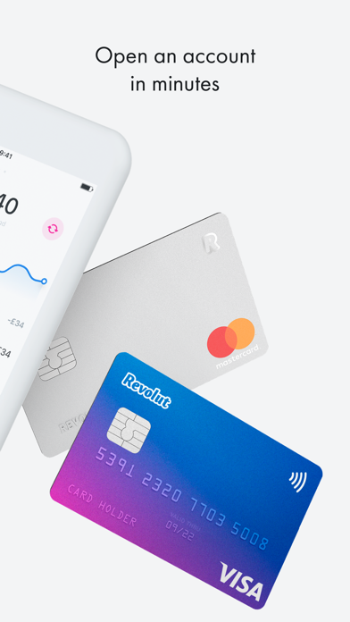 Screenshot for Revolut - Radically Better in Japan App Store