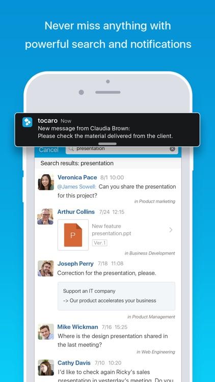 Tocaro: No.1 Team Productivity screenshot-3