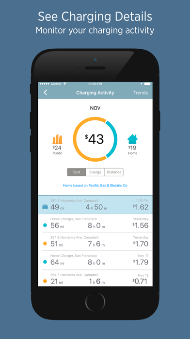 Chargepoint review screenshots