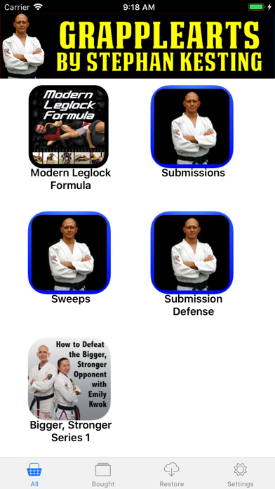 BJJ Master App by Grapplearts Screenshot