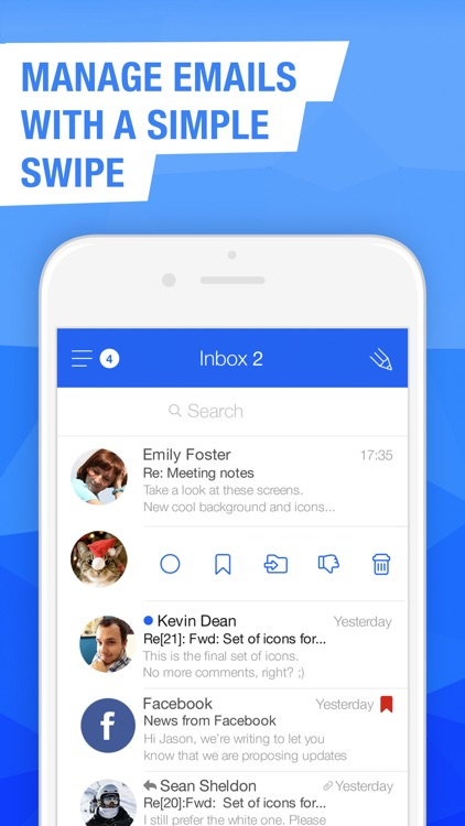 Mail.Ru – Email App screenshot-2
