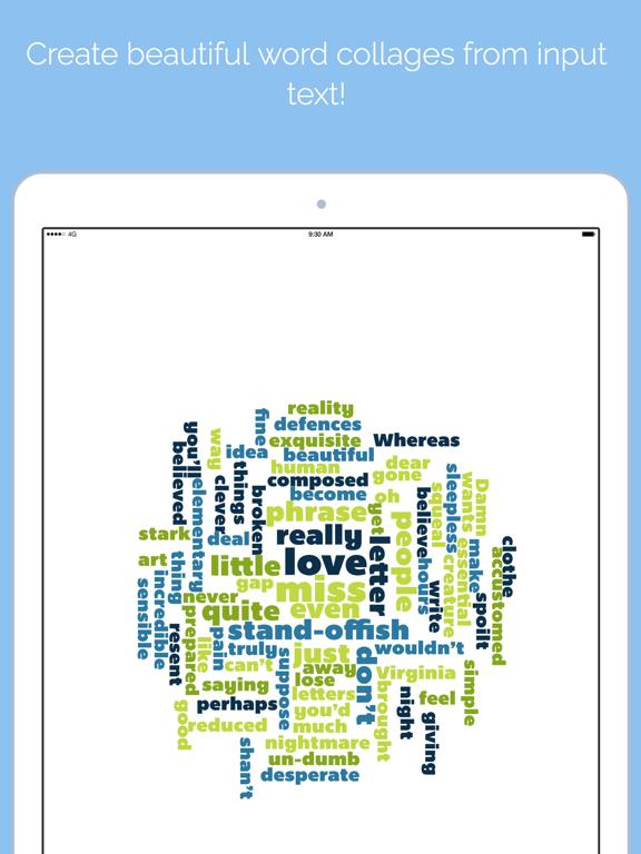 Word Collage Screenshot 0