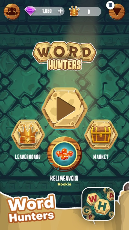 Word Hunters - Word Game screenshot-0