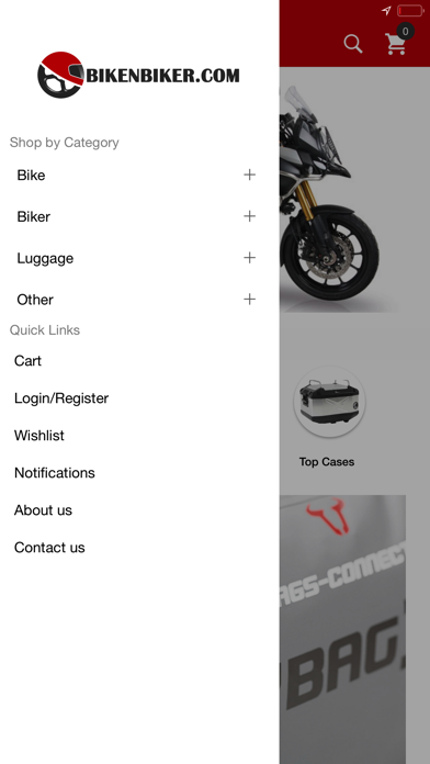Screenshot for Bikenbiker Online Shopping App in Indonesia App Store